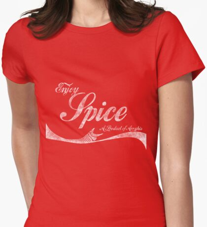 Spice (vintage) Womens Fitted T-Shirt