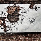forlorn &amp; torn...(Wall and forgotten billboard, The Beach, Toronto, Ontario, Canada) by Russ Styles