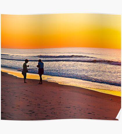 TWO WOMEN - MORNING SUN Poster