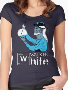 Walker White Women's Fitted Scoop T-Shirt