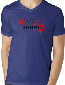 Welcome to bloody banoi  Mens V-Neck T-Shirt