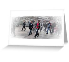 Walk This Way. Greeting Card