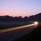 Taking Liberty Road Curve by Kent Nickell