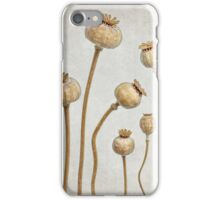 Poppy pods iPhone Case/Skin