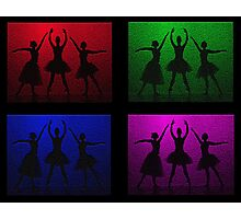 Four Squared Dance Photographic Print