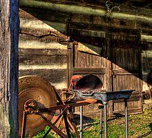 Blacksmith by eyesfriedopen