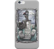 Grim Grinning Myrtle iPhone Case/Skin