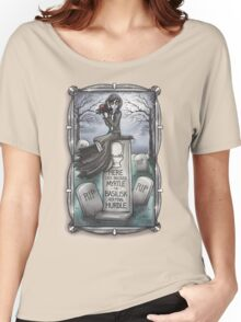Grim Grinning Myrtle Women's Relaxed Fit T-Shirt