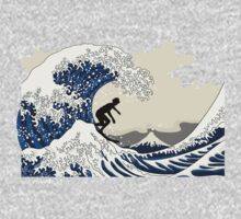 The Great Surfer off Kanagawa Kids Clothes