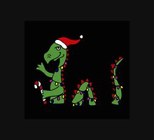 Awesome Green Loch Ness Monster with Christmas Lights Unisex T-Shirt