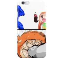 Then she gets hit by pepsi man  iPhone Case/Skin