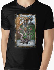 Luna's Haunting Trapeze Act Mens V-Neck T-Shirt