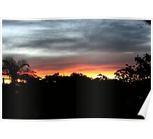 A Redcliffe Sunset Poster