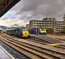 The Old and New Order at Temple Meads  by Rob Hawkins