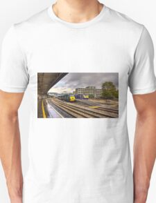 The Old and New Order at Temple Meads  Unisex T-Shirt