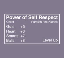 The Power of Self Respect Kids Clothes