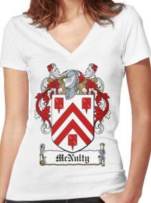 McNulty (Ref Murtaugh)  Women's Fitted V-Neck T-Shirt