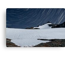 Sahale Peak Star Trails - North Cascades N. P. Canvas Print