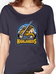 Highlander Sports Logo Women's Relaxed Fit T-Shirt