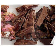 Marshmallow & Chocolate  Poster