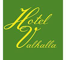 Hotel Valhalla Photographic Print