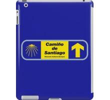 Camino de Santiago Sign with Text, Spain iPad Case/Skin