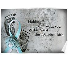 Holding His Memory This October 15th Poster