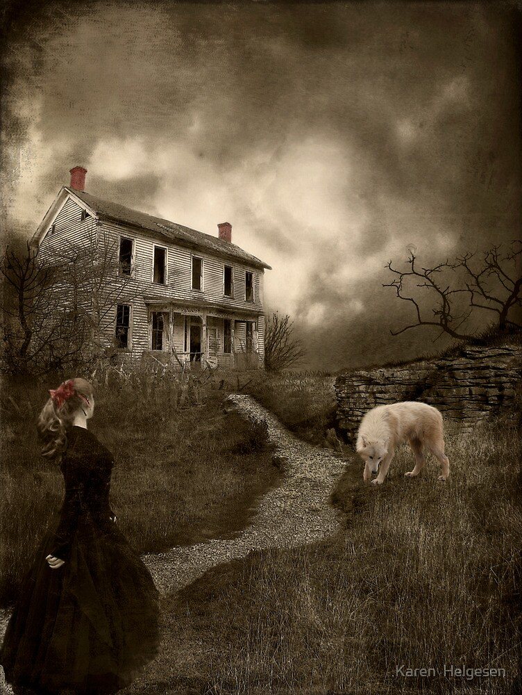 Where The Story Ends... by Karen  Helgesen