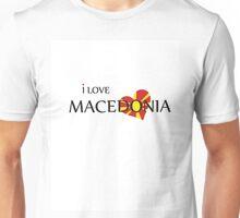 I LOVE MACEDONIA Unisex T-Shirt
