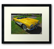Perfectly Yellow Framed Print