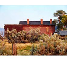 Hotel Meade 1 (Bannack, Montana, USA) Photographic Print