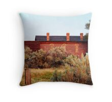 Hotel Meade 1 (Bannack, Montana, USA) Throw Pillow