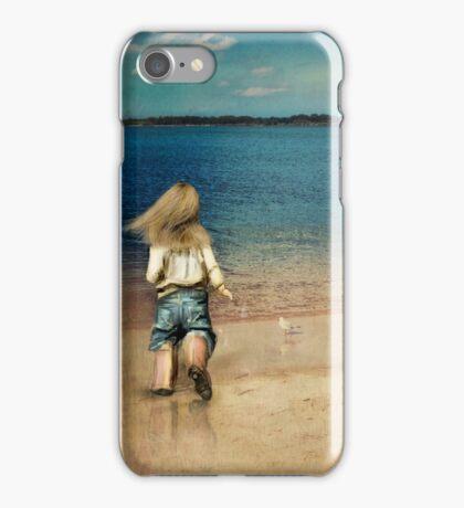 seaside holiday iPhone Case/Skin
