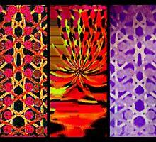 Patterned Three-Way by Charldia