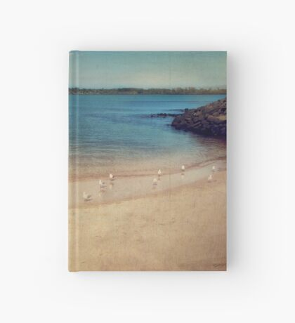 seaside holiday Hardcover Journal