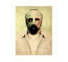 Zombie Want Brainz Art Print
