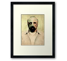 Zombie Want Brainz Framed Print
