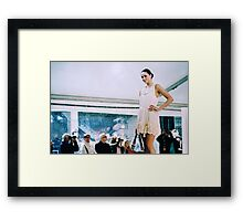Can't Stop Fashion Framed Print