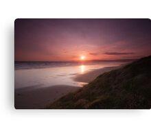 Newgale Sunset Canvas Print