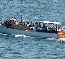 The Rum Runner Cruising Up Narragansett Bay by Jack McCabe