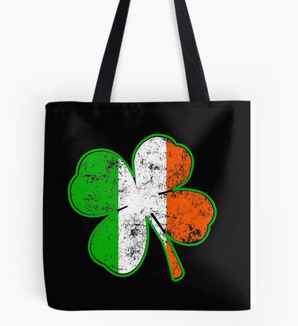 Irish Shamrock Tote Bag
