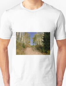 Country Road of Color Unisex T-Shirt