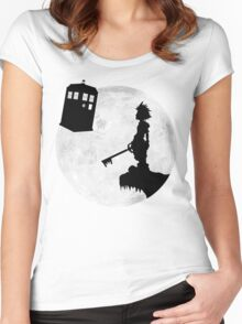 The Key To Another World Women's Fitted Scoop T-Shirt