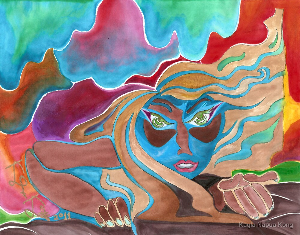 'Give'           Original Pieces Art™ by Kayla Napua Kong