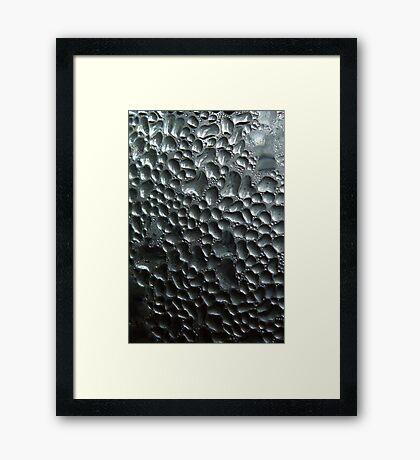 Condensed Framed Print