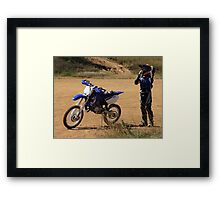 From a Pit Bike to a YZ Framed Print