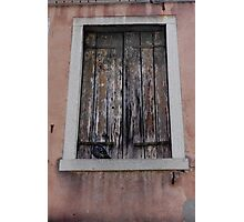 Old Window Photographic Print