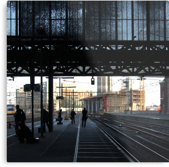 Stranger than fiction - Amsterdam CS by Eric Strijbos