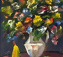Still Life - Original Oil Painting 2007 by Andrei Mundrea