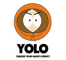 Kenny South Park Yolo Photographic Print